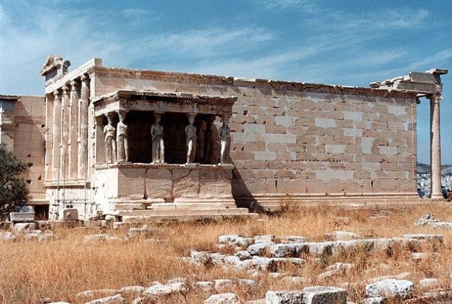 Zdjęcia: ATENY, Akropol, Erechtejon., GRECJA