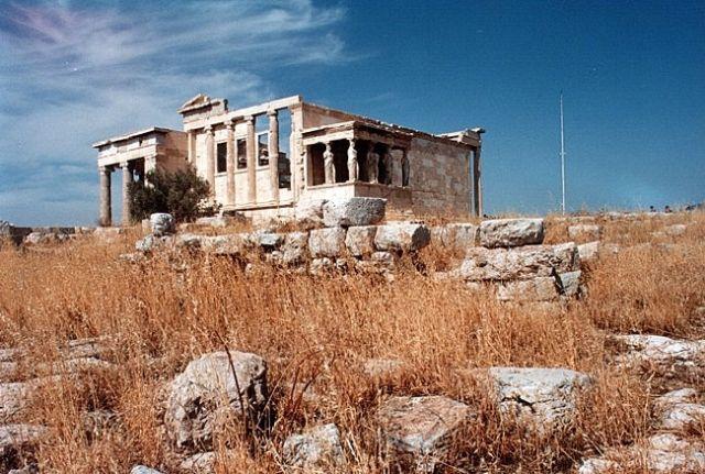 Zdjęcia: ATENY, Akropol, Erechtejon #2, GRECJA