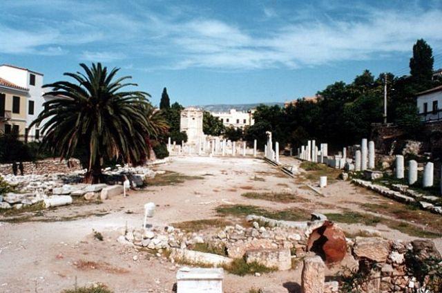Zdjęcia:  ATENY,  , Fragmenty rzymskiej agory, GRECJA