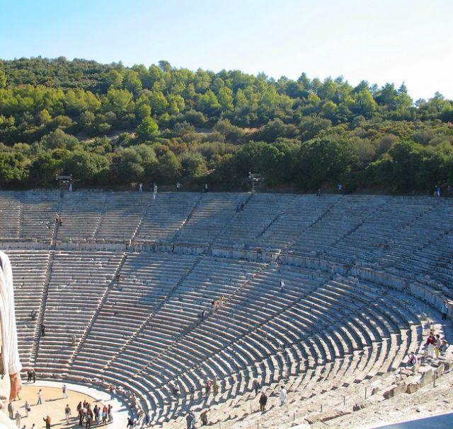 Zdjęcia: Epidauros, Peloponez - Argolida, Amfiteatr  antyczny, GRECJA