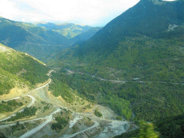Zdjęcia: w drodze z Epiru do Tesalii, Góry Pindos, Piękno gór Pindos, GRECJA