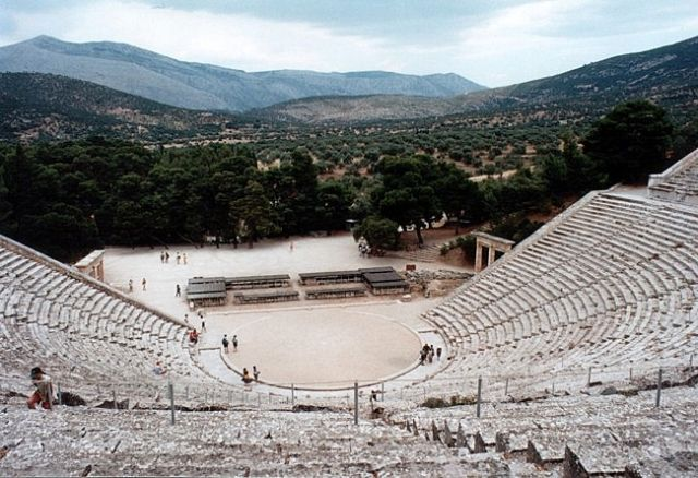 Zdjęcia: EPIDAUROS, Teatr, GRECJA