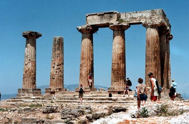 Zdjęcia: KORYNT, Świątynia Apollina, GRECJA