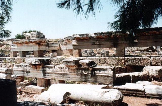 Zdjęcia: KORYNT, Captives Facade, GRECJA