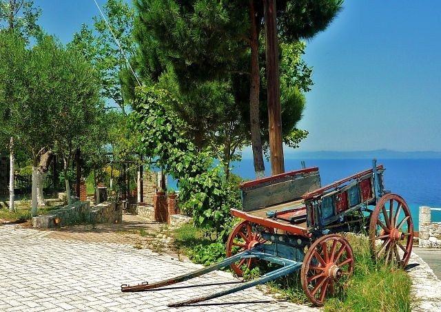 Zdjęcia: Kalithea, Chalkidiki, W Kalithei, GRECJA