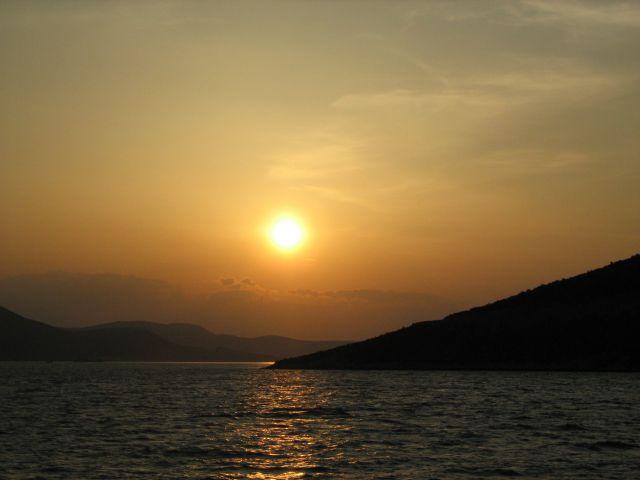 Zdjęcia: shiatos, zachód słońca, GRECJA