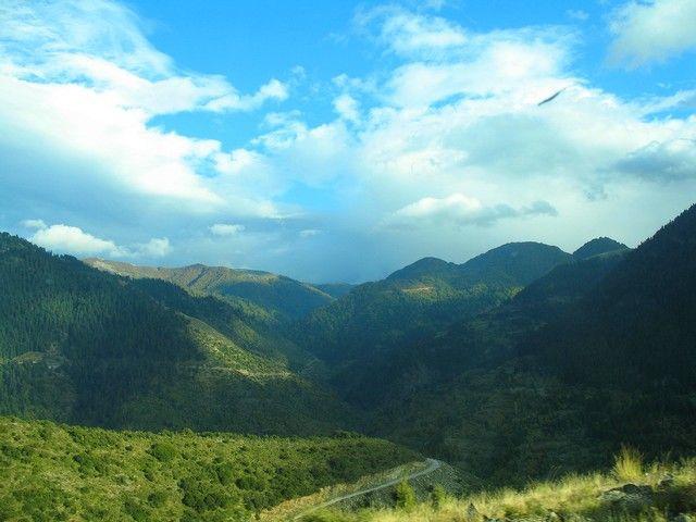 Zdjęcia: pomiędzy Epirem a Tesalią, -Pindos, w Górach Pindos, GRECJA