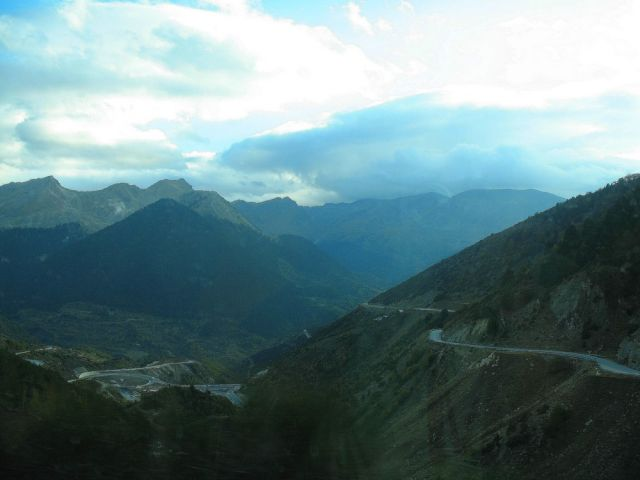 Zdjęcia: Pindos, Pindos, Droga przez góry, GRECJA