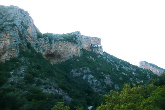 Zdjęcia: Leonidion, Peloponez, Gniazdo, GRECJA
