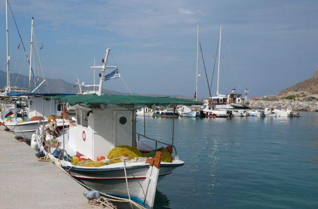 Zdjęcia: Yefira, Peloponez, Kutry rybackie, GRECJA