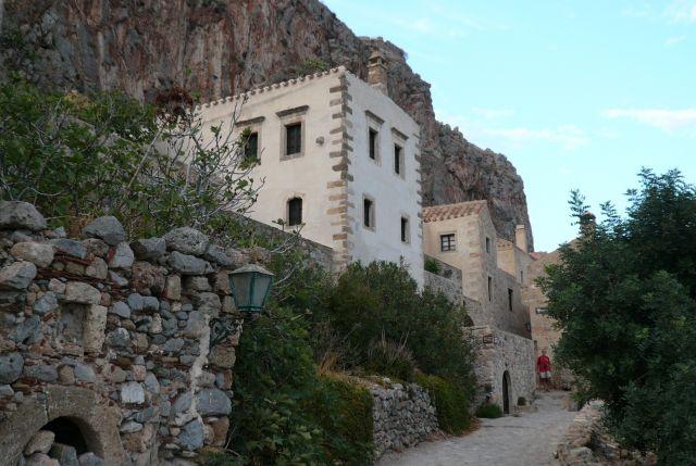 Zdjęcia: Monemvasia, Peloponez, Uliczka Monemvasii 2, GRECJA
