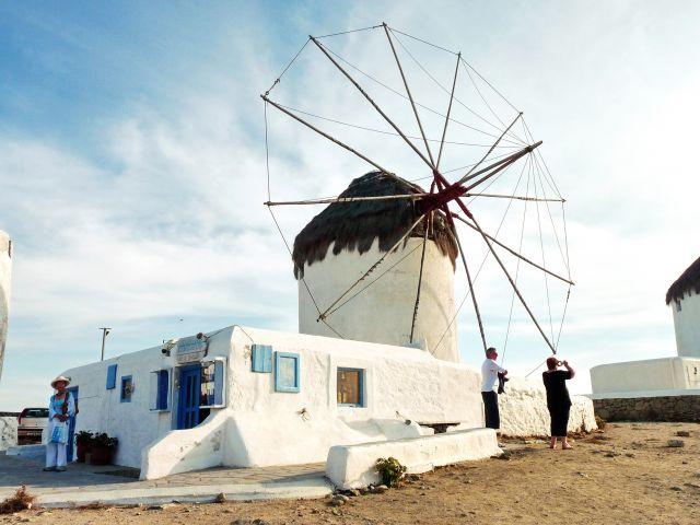 Zdjęcia: Mikonos , Mikonos, Biały młyn, GRECJA