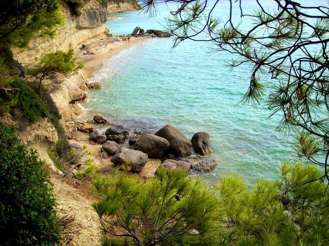 Zdjęcia: Płw. Kassandra / Siviri, Chalkidiki, plaża w wersji mini, GRECJA
