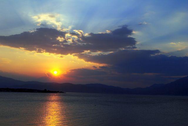 Zdjęcia: morze egejskie, światełko w tunelu, GRECJA
