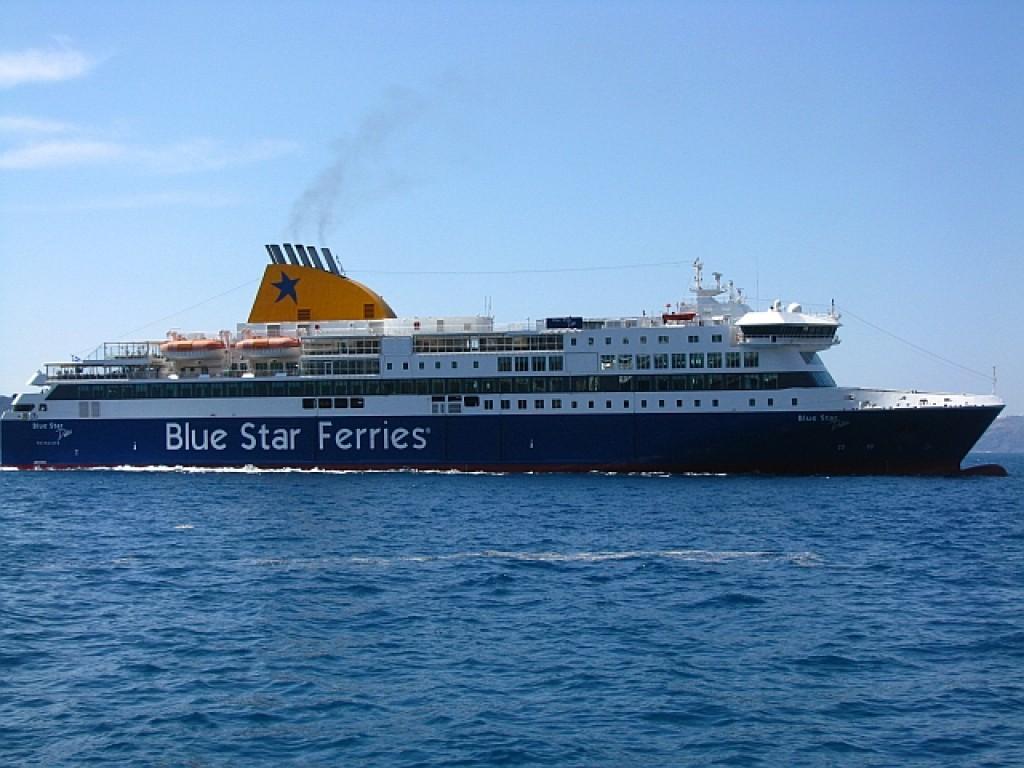 Zdjęcia: morze Egejskie, Cyklady, grecki prom, GRECJA