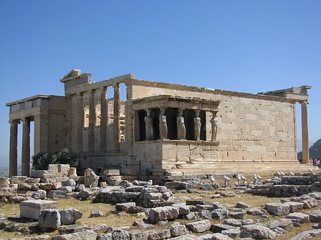 Zdjęcia: Ateny, Ateny, Erechtejon, GRECJA