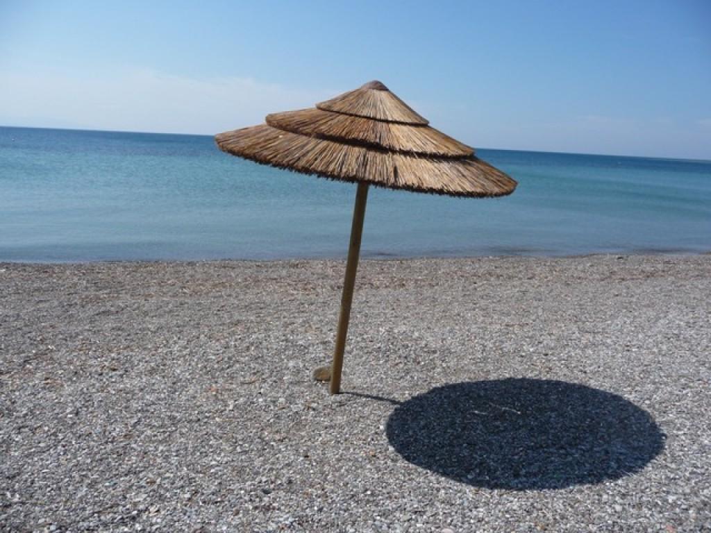Zdjęcia: Antirio, Antirio, plaża, GRECJA