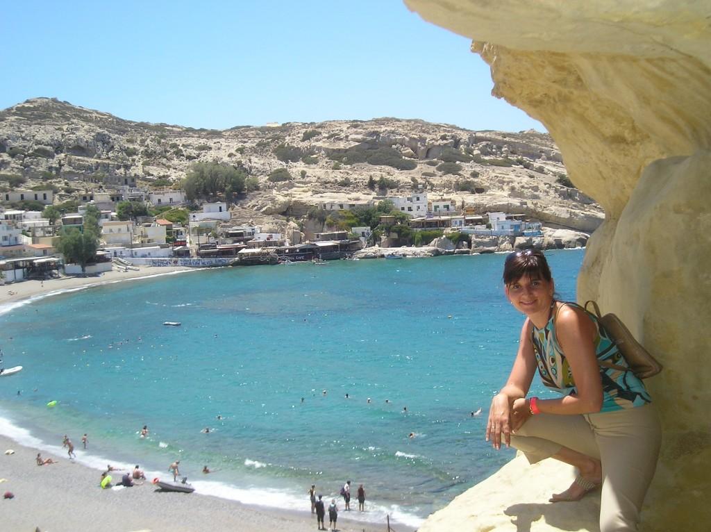 Zdjęcia: Matala, Kreta, konkurs Tam wrócę...Matala, GRECJA