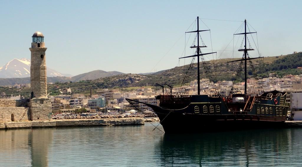 Zdjęcia: Rethymnon, Kreta, Latarnia XVII w., GRECJA