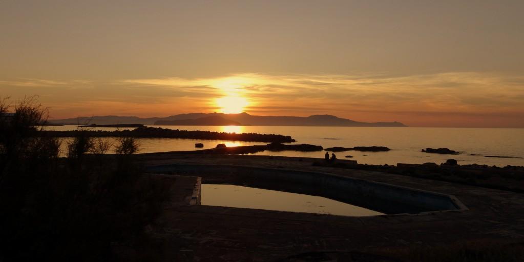 Zdjęcia: Chania, Kreta, Chania przed zmrokiem, GRECJA