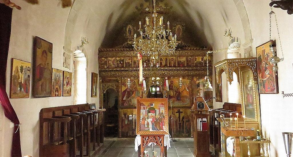 Zdjęcia: Mochos, Kreta, wiejski kościółek, GRECJA