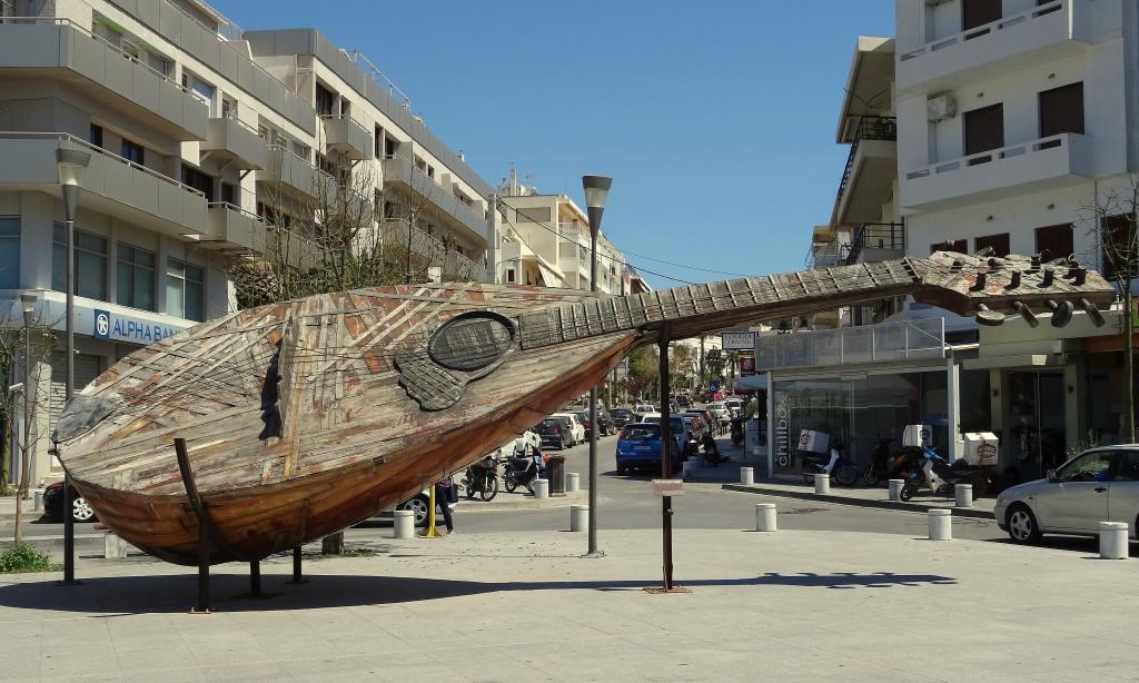 Zdjęcia: Rethymnon, Kreta, Na deptaku, GRECJA