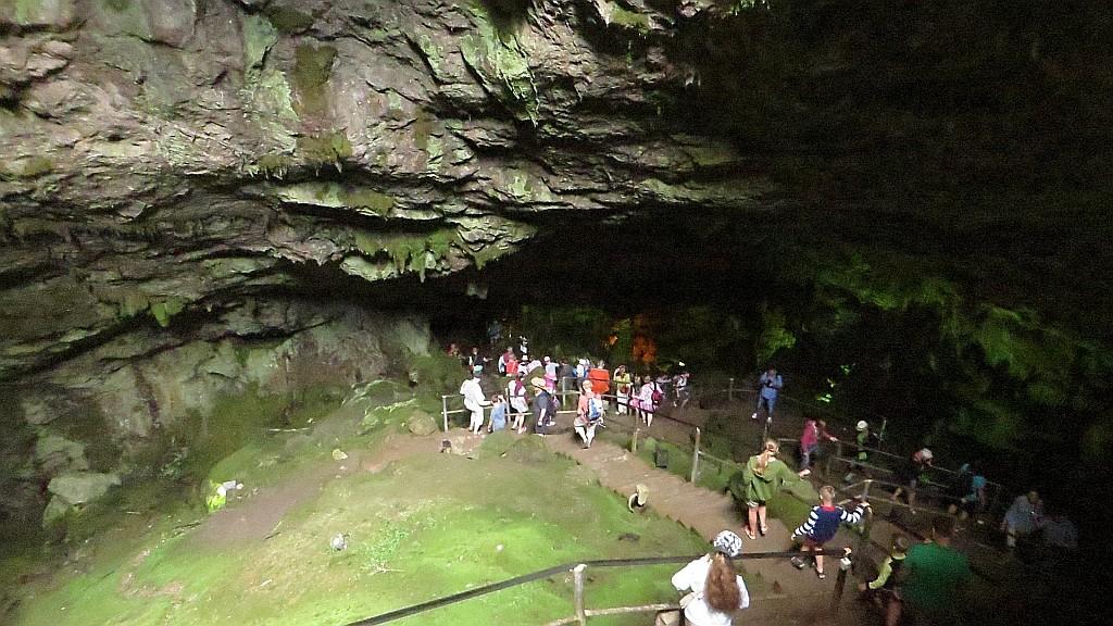 Zdjęcia: Dikteo Andro - jaskinia Zeusa, Kreta, wejście do jaskini Zeusa, GRECJA