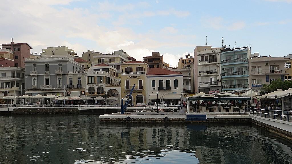 Zdjęcia: Agios Nikolaos, Kreta, przystań łódek, GRECJA