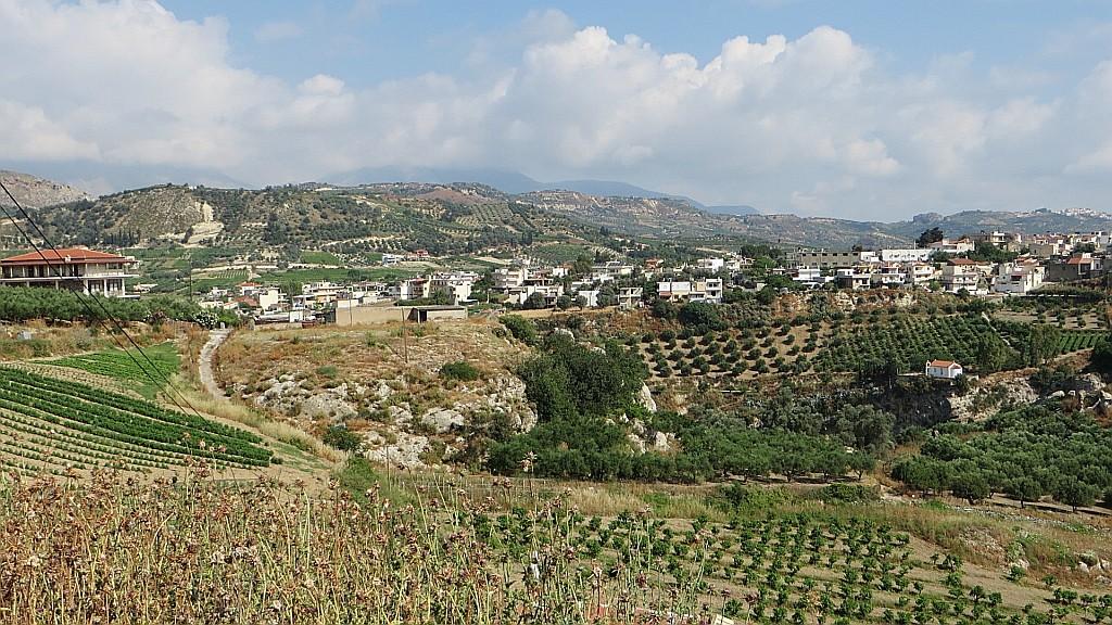 Zdjęcia: Trasa Heraklion - Faistos, Kreta, kreteńskie pejzaże, GRECJA