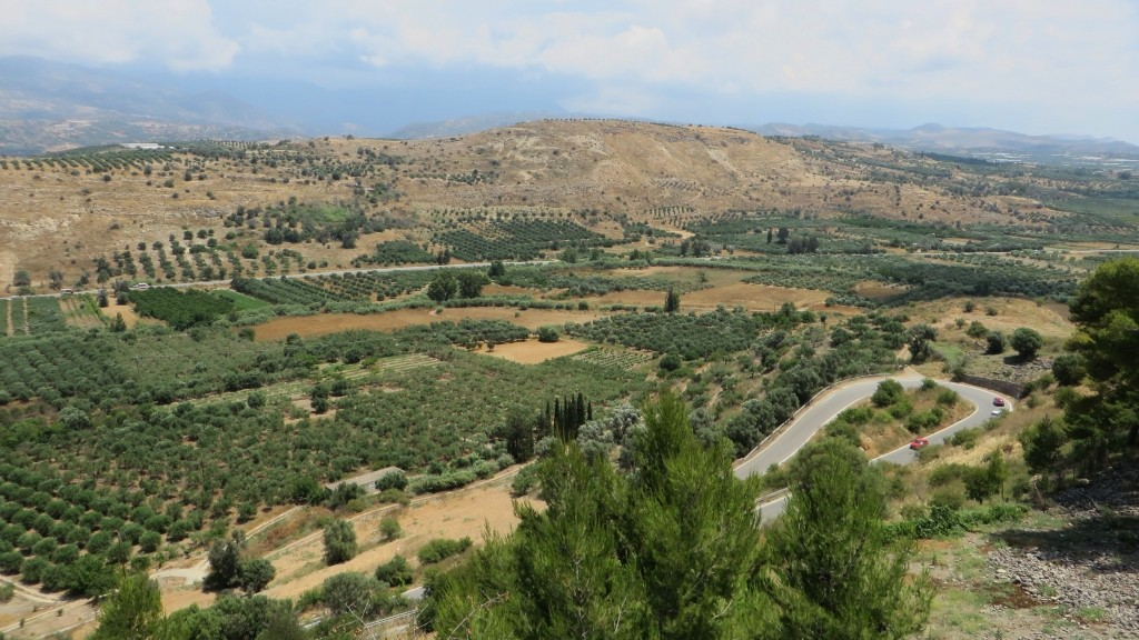 Zdjęcia: Faistos, Kreta, kreteńskie pejzaże, GRECJA