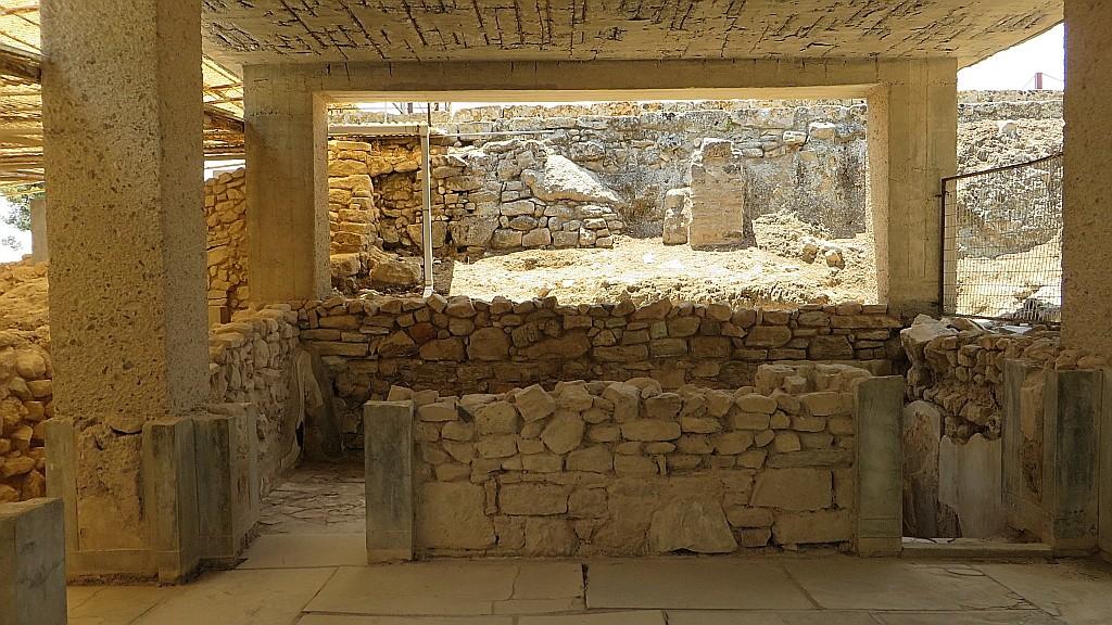 Zdjęcia: Fajstos, Kreta, megaron krola, GRECJA