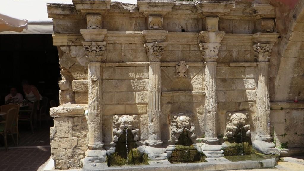 Zdjęcia: Rethimnon, Kreta, fontanna wenecka, GRECJA