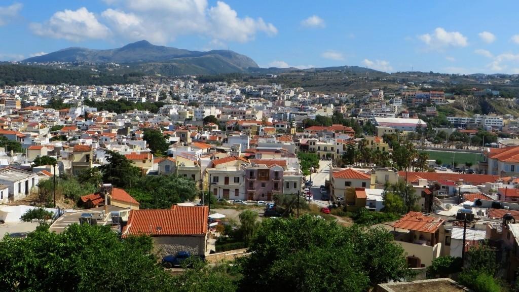 Zdjęcia: Rethimnon, Kreta, panorama miasta, GRECJA