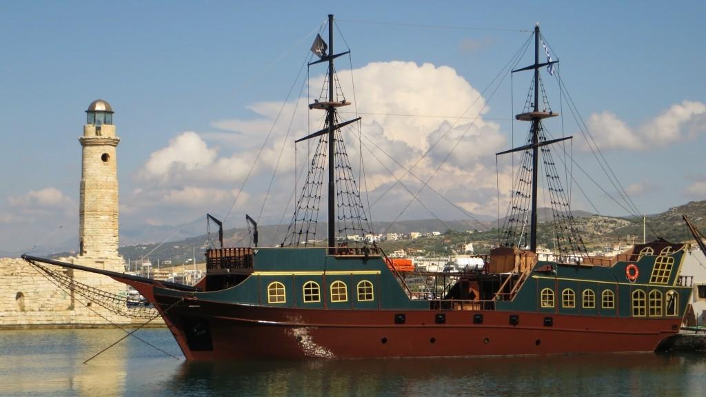 Zdjęcia: Rethimnon, Kreta, port wenecki, GRECJA
