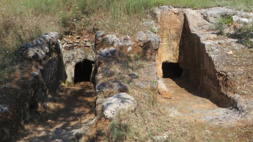 Zdjęcia: trasa Rethimnon - klasztor Preveli, Kreta, cmentarz minojski, GRECJA