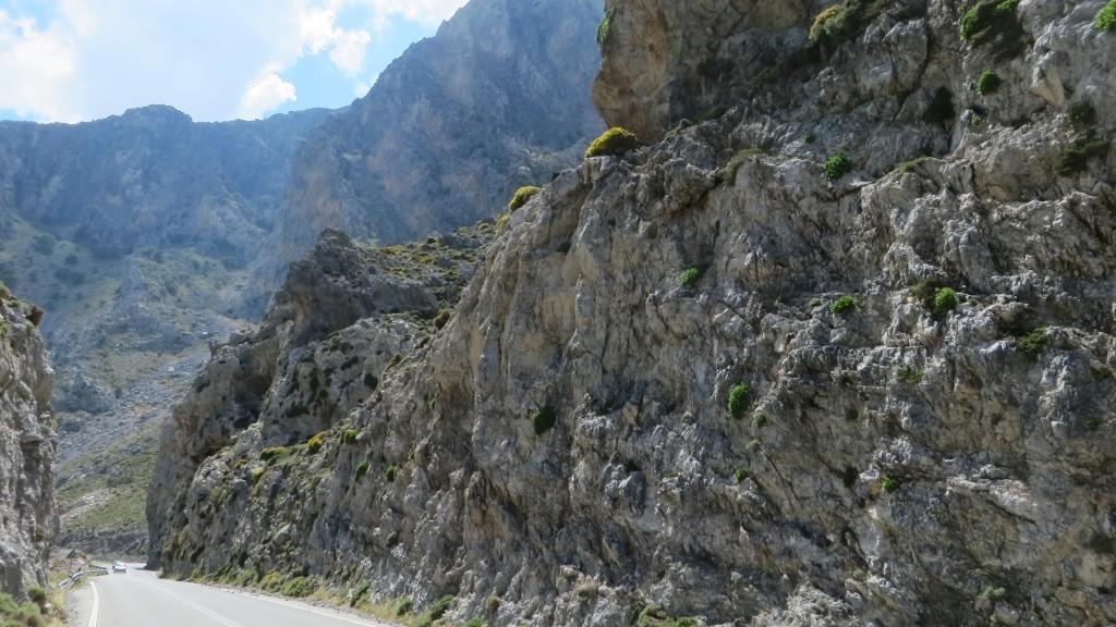 Zdjęcia: trasa Rethimnon - klasztor Preveli, Kreta, wąwóz Kourtaliotiko, GRECJA