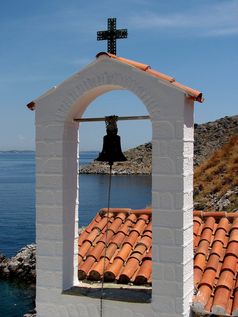 Zdjęcia: Hydra, morze Egejskie, Kościółek, GRECJA