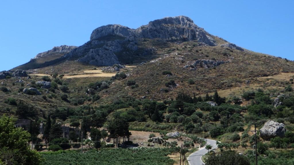 Zdjęcia: trasa Rethimnon - klasztor Preveli, Kreta, kreteńskie pejzaże, GRECJA