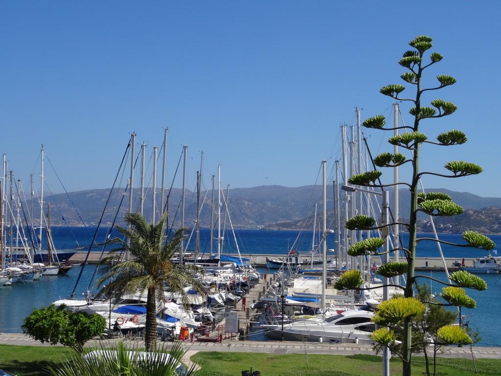 Zdjęcia: Agios Nikolaos, Kreta Wschodnia, Port w Agios Nikolaos, GRECJA