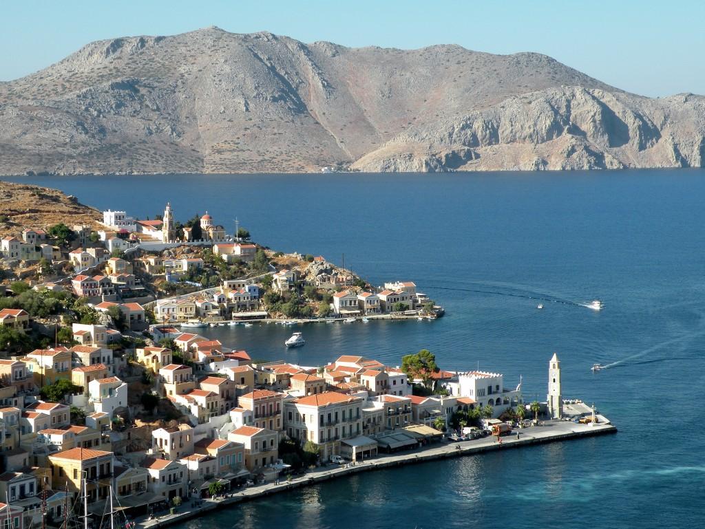 Zdjęcia: Dodekanez, Morze Egejskie, Simi, GRECJA