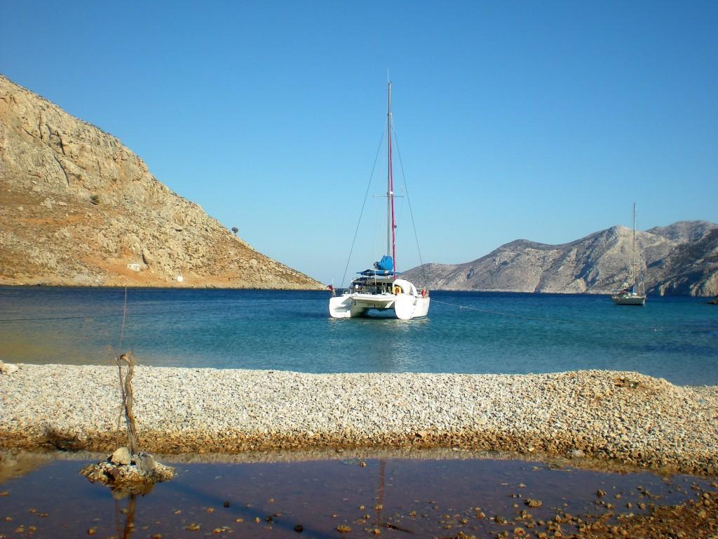 Zdjęcia: Kalymnos, Dodekanez, Zatoka, GRECJA
