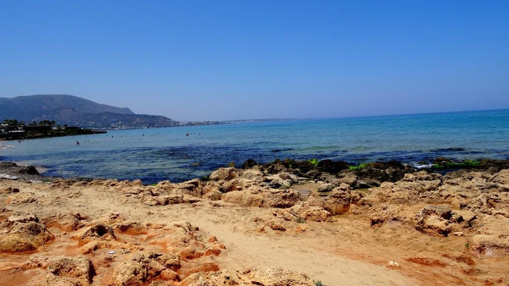 Zdjęcia: Malia, Kreta Wschodnia, Plaża w Malii, GRECJA
