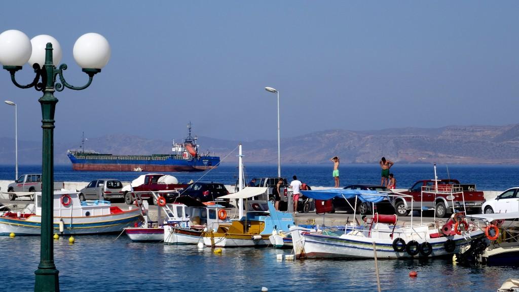 Zdjęcia: Sitia, Kreta Wschodnia, Port w Sitii, GRECJA