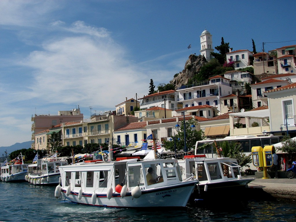 Zdjęcia: wyspy Sarońskie, morze Egejskie, Poros, GRECJA
