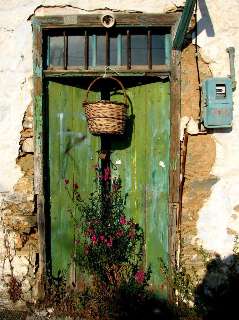 Zdjęcia: Skopelos, Morze Egejskie, Zielone drzwi 2, GRECJA