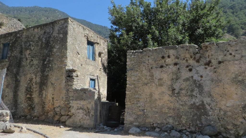 Zdjęcia: Kreta Zachodnia, Kreta, ruiny starej Agia Roumeli, GRECJA