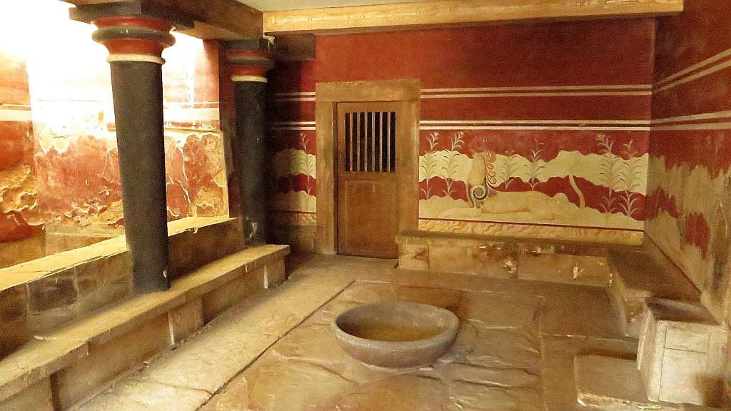 Zdjęcia: Knosos, Kreta, pałac Minosa w Knosos, GRECJA