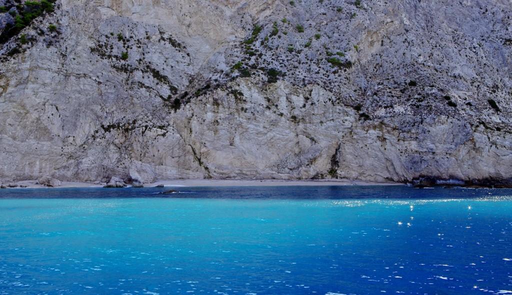 Zdjęcia: Lefkada, Wyspy Jońskie, Plaża Porto Katsiki, GRECJA