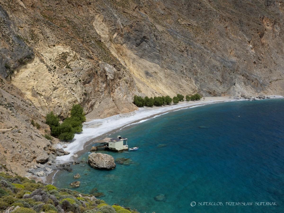 Zdjęcia: szlak z Chory Sfakion do Loutro, Kreta, Plaża Sweet Water, GRECJA