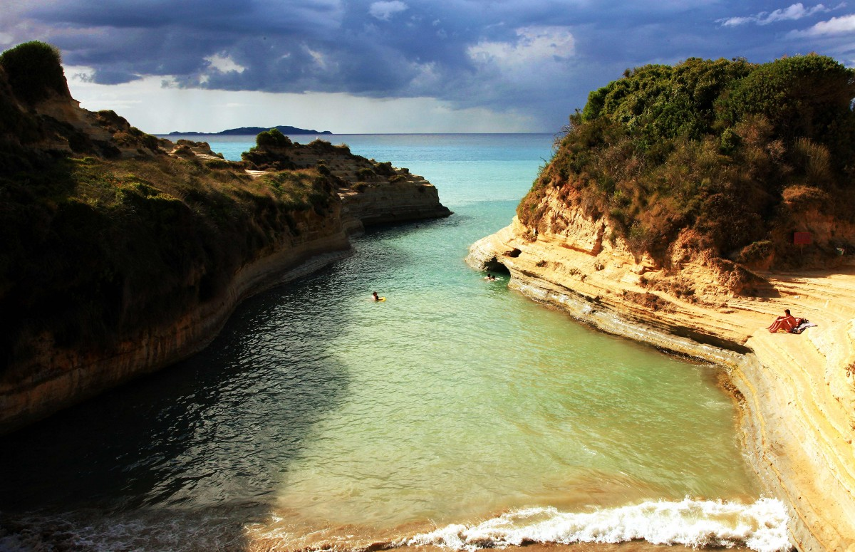 Zdjęcia: Sidari, Korfu, Canal D'Amour, GRECJA